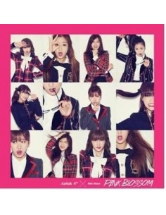 Apink 4th Mini Album - Pink Blossom CD + Poster