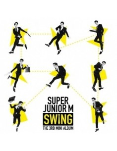 Super Junior - M  3rd Mini Album - SWING CD + Poster
