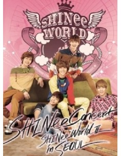 SHINEE The 2nd Concert  Album - SHINEE WORLD Ⅱ IN SEOUL (2 FOR 1)