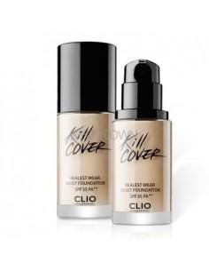 [CLIO] Kill Cover Realest Wear Moist Foundation SPF35, PA++ ( 3Colors )