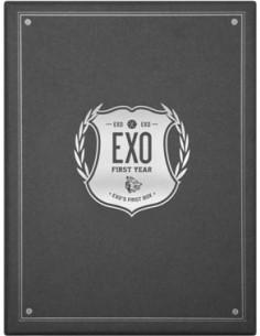 EXO - EXO's First Box - 4DVD + Earphone Winder + Gift Socks