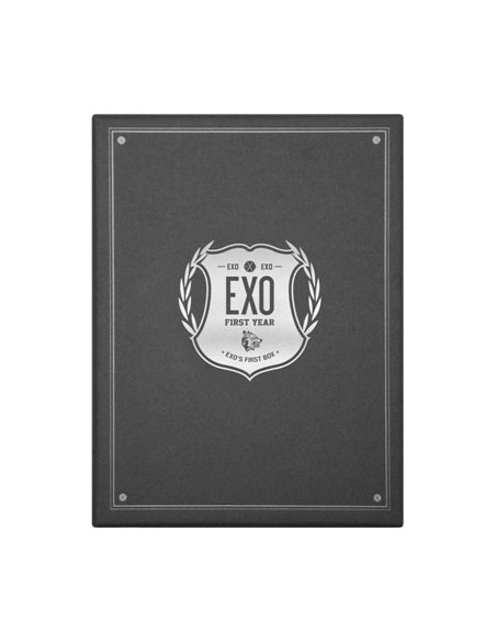 EXO - EXO's First Box - 4DVD + Earphone Winder + Gift Socks