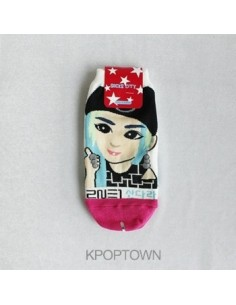2NE1 1 Pair of Character Socks - Sandra Ver 2