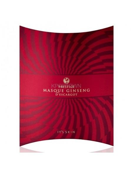 [ IT'S SKIN ] PRESTIGE Masque Ginseng d'escargot 1Set ( 5sheets )