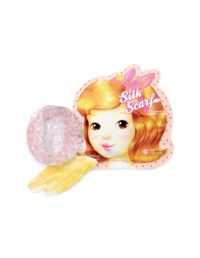 [ Etude House ] Silk Scarf Double Care Hair Mask