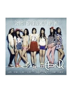 Apink Album Seven Springs of Apink CD + Poster
