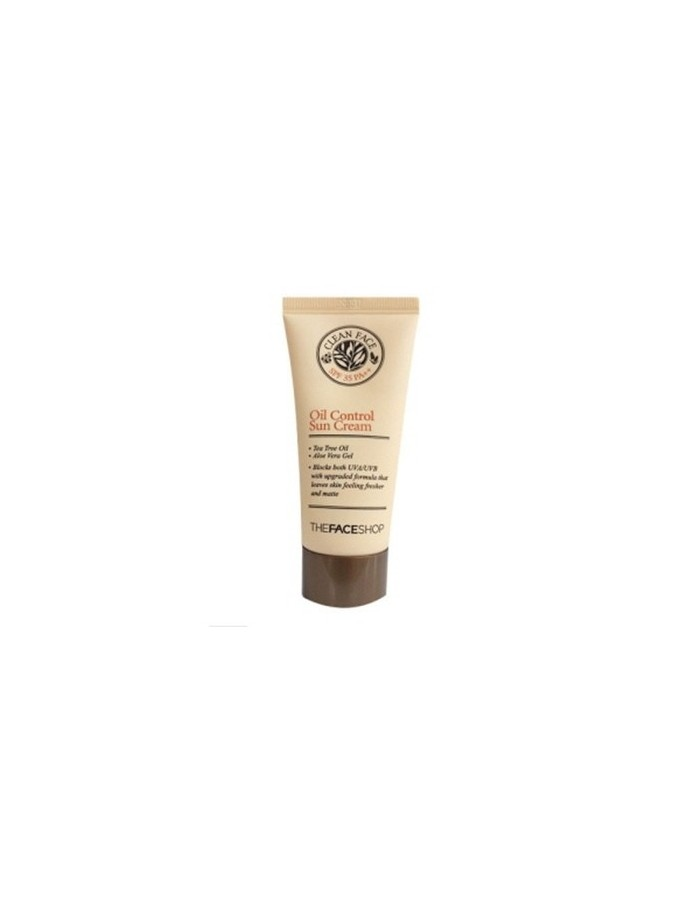 [Thefaceshop] Clean Face Oil Control Sun Cream 50ml