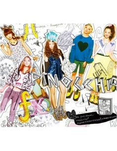 Fx F(x) First Album Pinocchio CD +Poster + Photobook