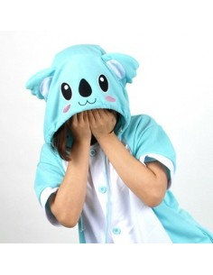 [PJB148] Animal Shorts Sleeve Pajamas - Koala