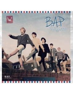 B.A.P 4th Single Album - B.A.P Unplugged 2014 CD + Poster