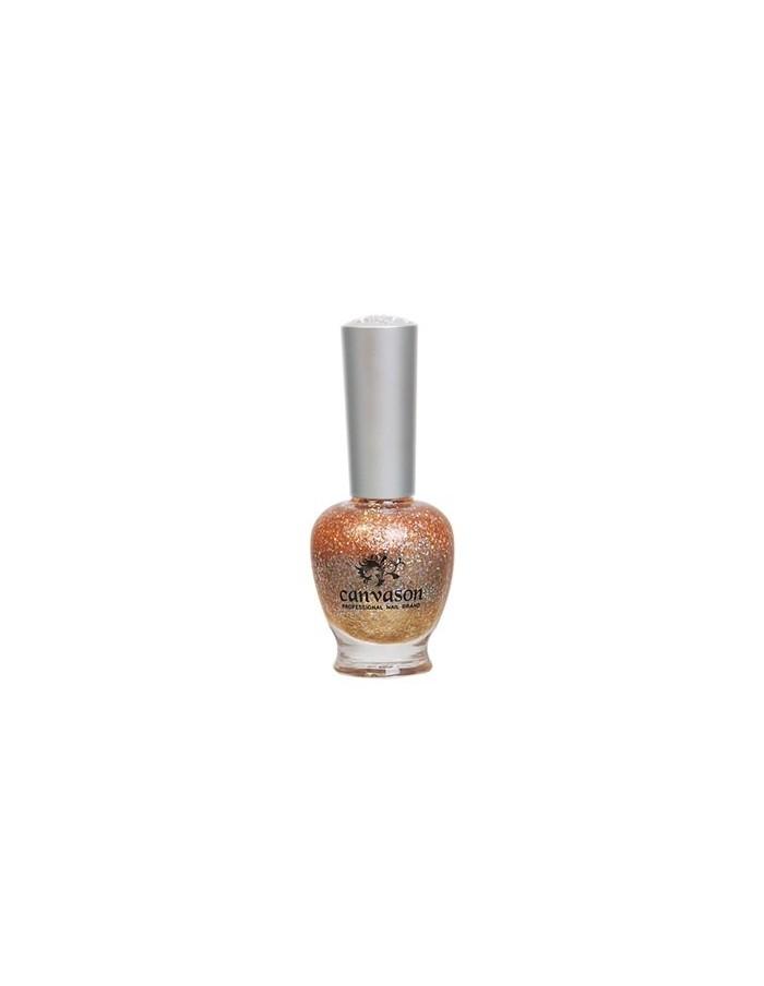[ Canvason ] Glam Orange Nail Polish 15ml