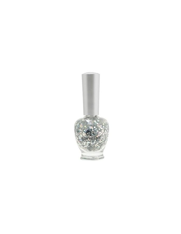 [ Canvason ] Silver Crystal Nail Polish 15ml