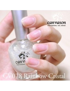 [ Canvason ] Rainbow Crystal Nail Polish 17ml