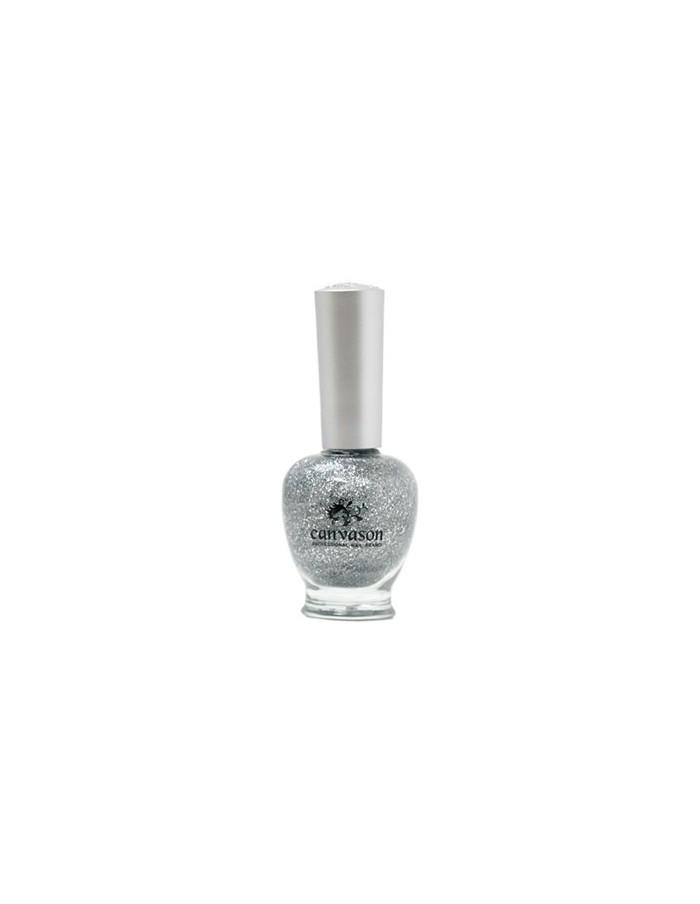 [ Canvason ] Spakle Silver Nail Polish 15ml