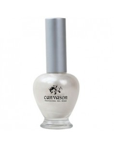 [ Canvason ] White Pearl  Nail Polish 15ml