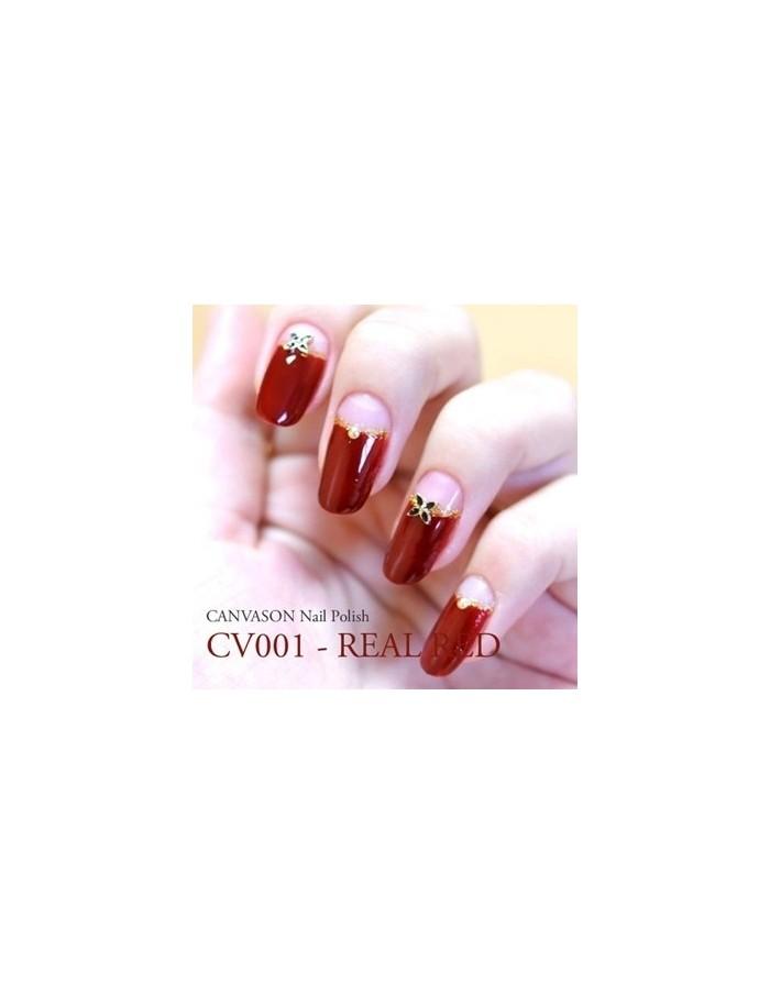 [ Canvason ] Real Red Nail Polish 15ml
