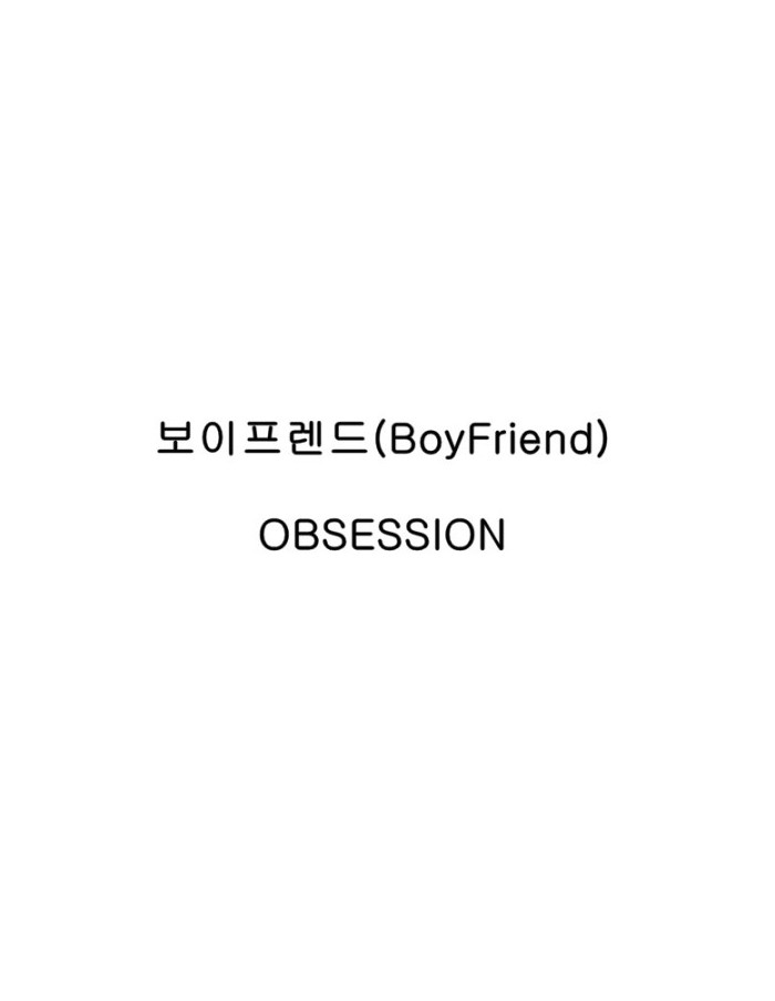 BOYFRIEND 2nd Mini Album - OBSESSION  CD