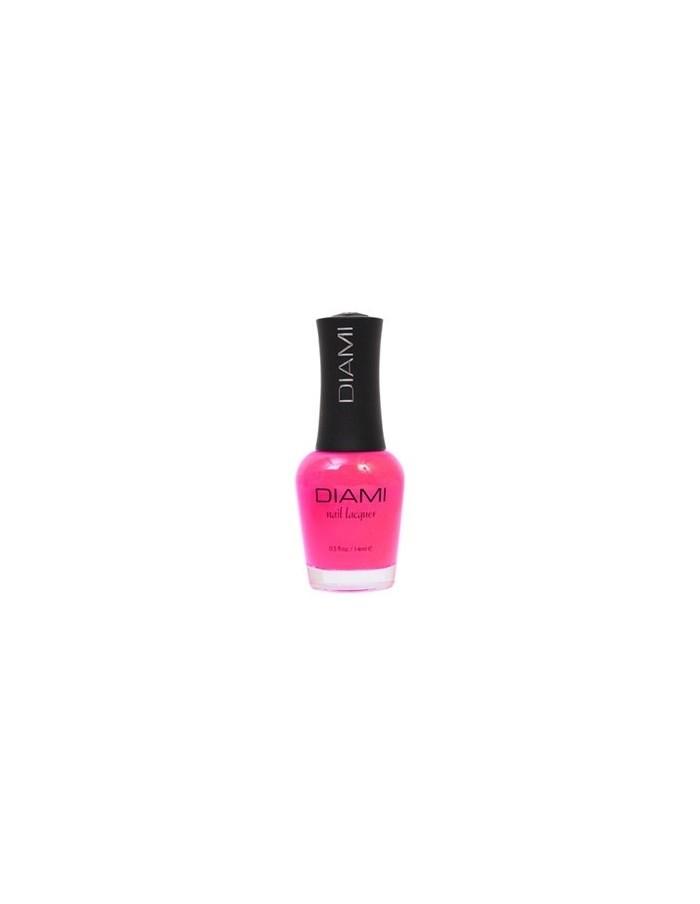 [ Diami ] Neon Pink Orange Nail Polish 14ml