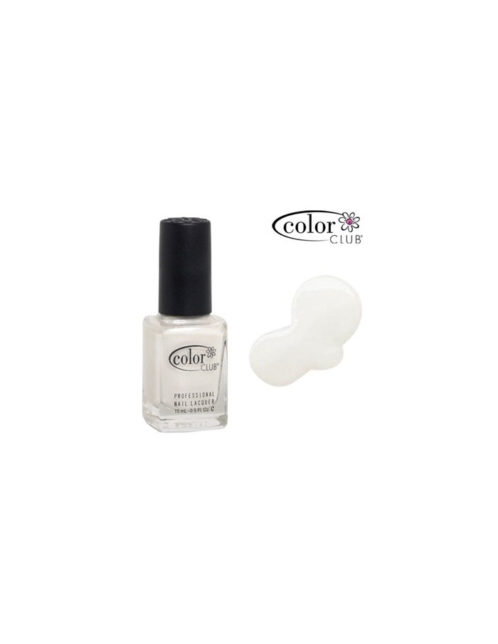 [ Color Club ] Pearl White Nail Polish 15ml