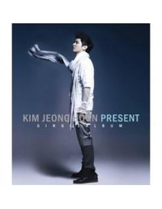 Kim Jeong Hoon Single Album Present CD