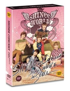 SHINee The 2nd Concert DVD - SHINee World Ⅱ in Seoul