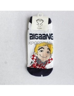 BIGBANG BIG BANG 5 Pairs of Character Socks PK Version - Seungri Ver 2