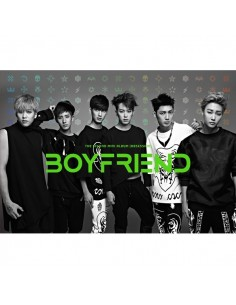 BOYFRIEND 2nd Mini Album - OBSESSION  CD