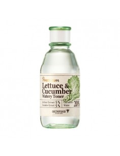 [Skin Food] Premium Lettuce & Cucumber Watery Toner 180ml