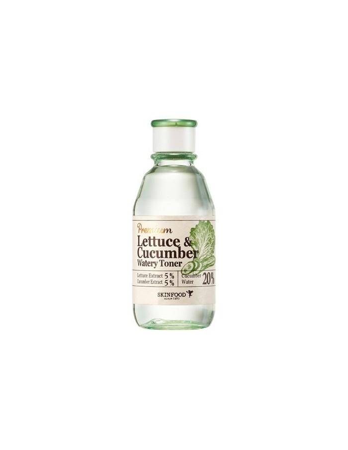 [Skin Food] Premium Lettuce & Cucumber Watery Toner 180ml
