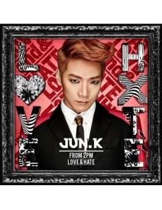 2PM JUN. K Japan Solo Album - LOVE & HATE  CD