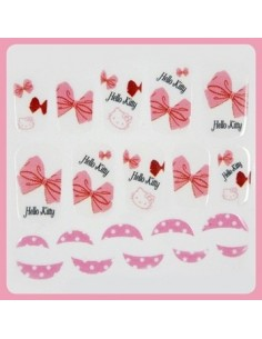 [ Nail Wrap ] Hello Kitty - Full Cover Nail Sticker