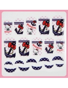 [ Nail Wrap ] Hello Kitty - Full Cover Nail Sticker Ver 3
