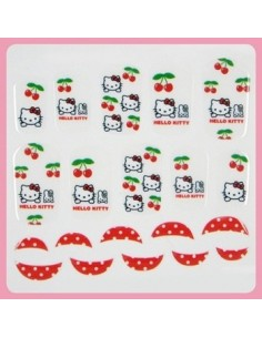 [ Nail Wrap ] Hello Kitty - Full Cover Nail Sticker Ver 5