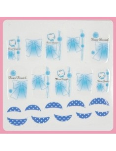[ Nail Wrap ] Hello Kitty - Full Cover Nail Sticker Ver 8