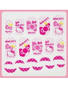 [ Nail Wrap ] Hello Kitty - Full Cover Nail Sticker Ver 9
