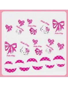 [ Nail Wrap ] Hello Kitty - Full Cover Nail Sticker Ver 10