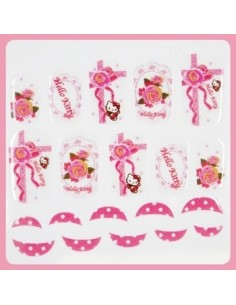 [ Nail Wrap ] Hello Kitty - Full Cover Nail Sticker Ver 11