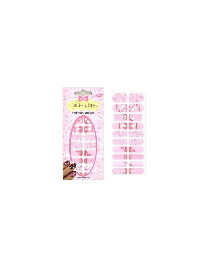 [ Nail Wrap ] Hello Kitty - Nail Skin Sticker Ver 5