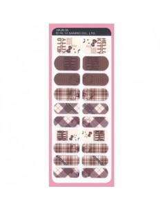 [ Nail Wrap ] Hello Kitty - Nail Skin Sticker Ver 8