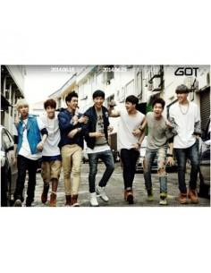 GOT7 Mini Album - GOT♡  CD + Poster