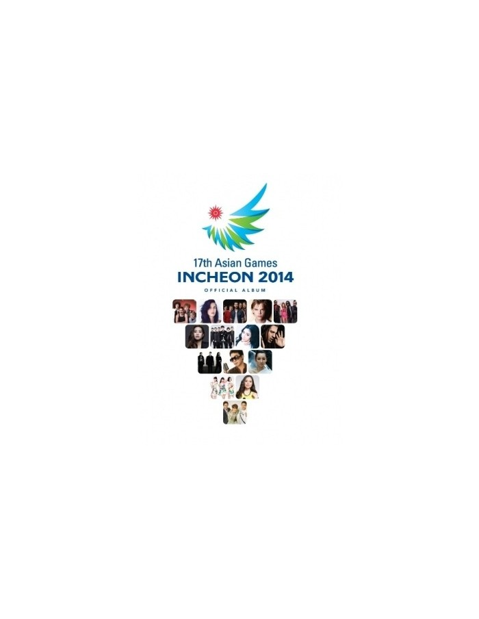 [Deluxe] 17th Asian Games Incheon 2014 Official Album - 2CD + DVD + Poster