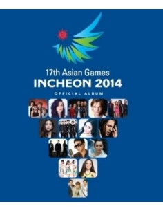 [Standard] 17th Asian Games Incheon 2014 Official Album - 2CD + DVD