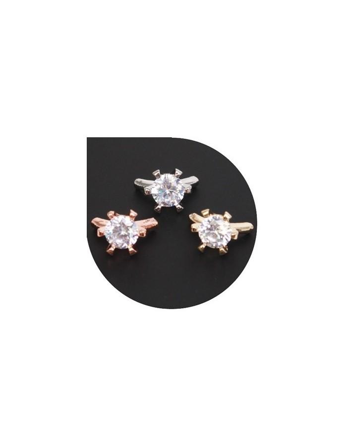 [ Nail Decoration ] Cubic Nail Ring