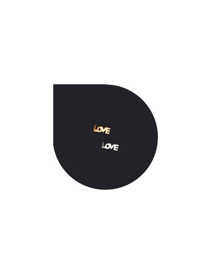[ Nail Decoration ] Mini Love Initial