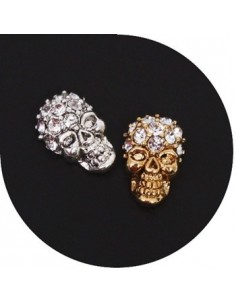 [ Nail Decoration ] Real Skull