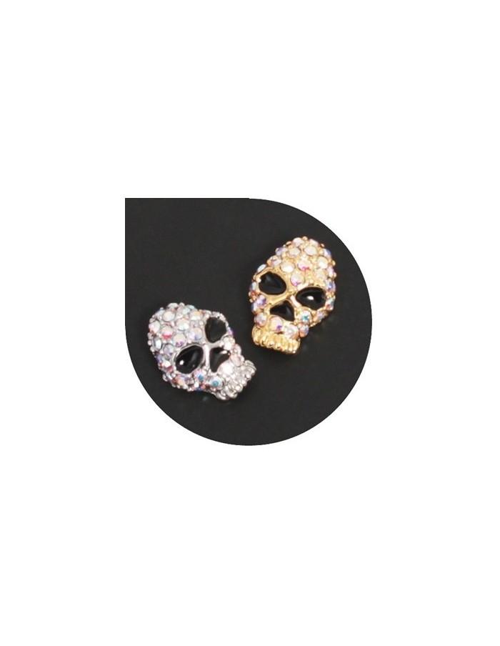[ Nail Decoration ] Stone Skull