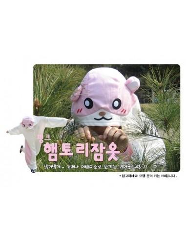 SHINEE Animal Pajamas - Pink Hamtori