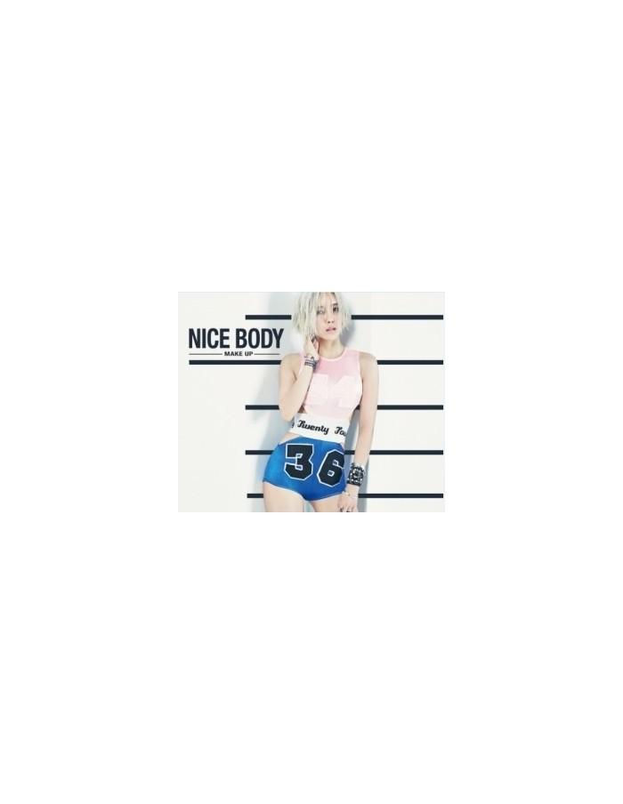 TARA Hyo Min - MAKE UP Nice Body CD + Poster