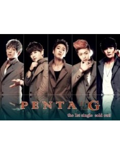 Penta-G 1st Single album - Sold out! CD