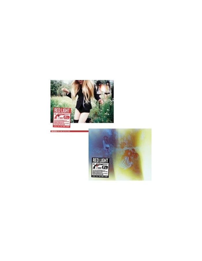 f(x) FX 3rd Album vol 3  - RED Light CD + Poster [A Type]
